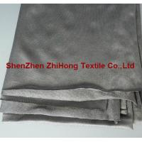 Wholesale High elastic two side stretch Spandex silver fiber fabric for pregnant from china suppliers