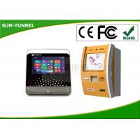 Wholesale Windows Xp Customizable Self Service Banking Kiosk Touch Screen With Finger Print Reader from china suppliers