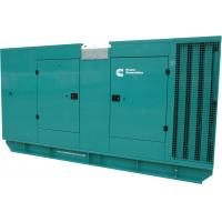 Quality 312.5kva 250kw Cummins Engine Super Silent Type Diesel Generator For Hospital / Industrial for sale