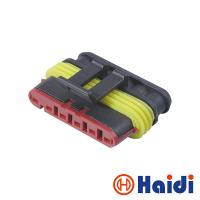 Wholesale 6 Pin Tyco/Amp Automotive Connectors Plug Connectors With Terminals 282090-1 from china suppliers