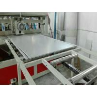 Quality 5 - 50mm Thickness PVC WPC Crust Foam Board Making Machine For Construction Use for sale