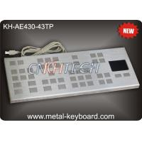 Wholesale Vandal Resistant Industrial Keyboard with Touchpad / Large keys Panel Mount Keyboard Precision from china suppliers
