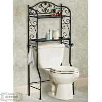 Wholesale metal products toilet shelf bathroom rack from china suppliers