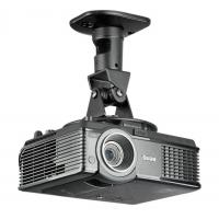 Wholesale 360 Rotating Aluminum Projector Ceiling Wall Mount  For 3D LED DLP Proyector Silver / Black from china suppliers