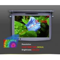 "Wholesale Beige Black and Grey Color 19"" Roof Mounted LCD Monitor with Built in IR Transmitter, Roof Mounted Car DVD Players from china suppliers"