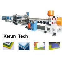 Wholesale Plastics Extrusion Machinery / PVC Foam Board Making Machine for Faux Marble from china suppliers
