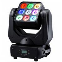 Quality DMX512 9pcs LED Moving Martix Light 9 x 10W CREE 4in1 LED For Bar for sale