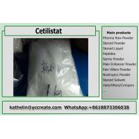 Wholesale Treating Obesity Pharma Raw Cetilistat White Powder For Fat Loss Cas 282526-98-1 from china suppliers