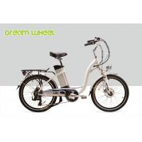 "Wholesale 250W Electric City Bike / 24"" Ladies Cruiser Bikes With Shimano Derailleur from china suppliers"