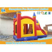 Wholesale Customized Inflatable Bouncer With Slide , Kids Inflatable Jumping Castles For Rent from china suppliers