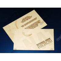 Wholesale Four color process or custom color PVC business name card and membership card printing from china suppliers