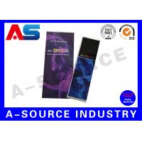 Wholesale Holographic Rolled Custom E Liquid Labels For e Cig Juice Bottles With Different Flavors from china suppliers