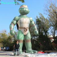 Wholesale 6m Height Inflatable Stand Ninja Turtle with Blower for Outdoor from china suppliers