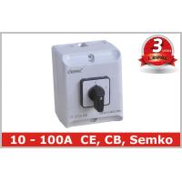 Wholesale Industrial 3 Pole Selector Switch Box Automatic Changeover Switch from china suppliers