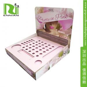 Wholesale pop counter mascara display cardboard Lip gloss display/display rack from china suppliers