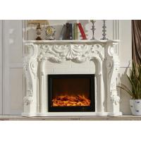 Wholesale Safe Classical Freestanding Electric Fireplace Can Remote Control from china suppliers