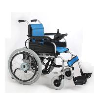 Wholesale 22 Inch Indoor Lightweight Portable Electric Wheelchair For Elderly / Children from china suppliers
