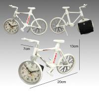 Buy cheap Novelty bike shape table clock For home decoration from wholesalers