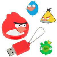Wholesale High speed 8GB angry birds high speed PVC USB Flash Drive with customized logo (MY-UPVC15) from china suppliers