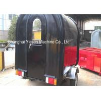 Quality Mobile Fiberglass Concession Trailers Food Cart Mobile Food Vending Cart for sale