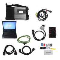 Wholesale V2017.07 MB SD Connect C5/ C4 Star Diagnosis Plus Lenovo T410 Laptop With DTS and Vediamo Engineering Software benz star from china suppliers