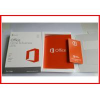 Buy cheap Microsoft Office 2016 Home and business  Retail Box Office 2016 HB for MAC activated online from wholesalers