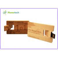 Wholesale Custom engraving logo Wooden usb flash drive 4GB 8GB 16GB 32GB 64GB USB 2.0 flash drive memory Stick pendrive Wooden from china suppliers