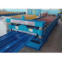 Wholesale 840mm Width Profile Steel Sheet Roll Forming Machine Hydraulic Guide Cutting from china suppliers