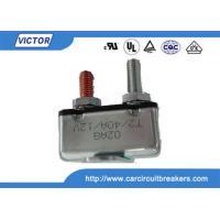 Wholesale Stud / Bracket Mount Motor 24 Volt 50 Amp Circuit Breaker With Metal Housing from china suppliers