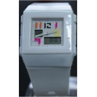 Wholesale Square Case PU Analog-digital Watch , 3 ATM waterproof Casio Baby G Watch from china suppliers