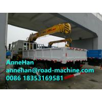 Wholesale Chassis 12 Tons HIAB Telescopic Truck Mounted Crane 6X4 LHD Cargo Lift Heavy Duty from china suppliers