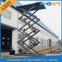 Wholesale Fixed Electric Hydraulic Automotive Scissor Lift Car Parking Equipment with CE from china suppliers