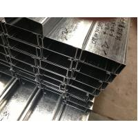 Wholesale Q235 Q345 Galvanized C and Z Steel Purlins With 275g/m2 Zinc Coating Thickness from china suppliers