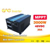 Wholesale HD LCD Display Deep Cycle Ultra Thin Home Power Inverter Current For Solar System from china suppliers