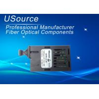 Wholesale Single Fiber BiDi Ethernet 1X9 Optical Transceiver 20KM Distance 155 Mbp / s from china suppliers