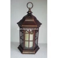 Wholesale Home Decoration Flameless LED Candle Lantern / Decorative Lanterns with Battery from china suppliers
