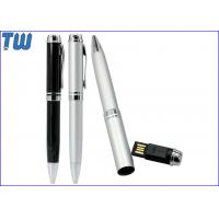 Wholesale Pen Cap USB Flash Drives Full Protection Metal Material 4GB 8GB 16GB 32GB from china suppliers