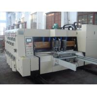 Buy cheap Pallet Automatic  Carton Paper Full Automatic Corrugated Box Making Machine from wholesalers