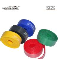 Wholesale Beautiful Colored Hook And Loop Fastening Tape Adhesive  Sticky Tape Flame Retardant from china suppliers