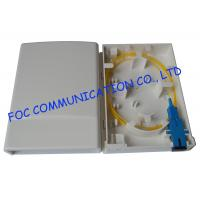 Buy cheap 2 Port wall mount patch panelFiber Optic Socket Small Multi - Function from wholesalers