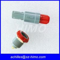 Wholesale best offer high quality double key PAG 2pin Lemo Plastic Straight plug Connector (PAG. 1P. 302) from china suppliers