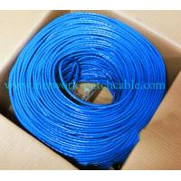 Wholesale Telecommunication Cable UTP Cat 5e 0.5mm Copper Lan Cable Pass Fluke LSZH from china suppliers