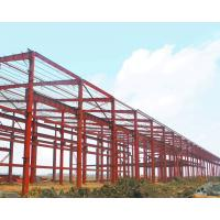 Wholesale Large Span Warehouse Steel Structure Building Corrosion Resistant High Strength Plate from china suppliers