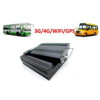 Wholesale 4 Channels Hard Disk 4G / 3G Mobile DVR School Bus WiFi GPS G - Force from china suppliers