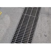 Wholesale 25 X 5 Heavy Duty Grating Cover , ISO SGS Certificate Driveway Trench Drain Grates from china suppliers