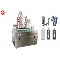 Wholesale Small Automatic Bag On Valve Aerosol Filling Machine for Fire Extinguisher from china suppliers