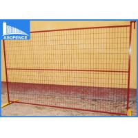 Wholesale Rot Proof Outdoor Security Fencing Panels Hire For Construction Site from china suppliers
