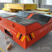 Wholesale V-groove Deck Cylinder Handling Equipment Electric Trackless Transfer Bogie from china suppliers