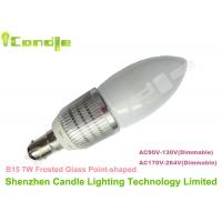 Wholesale 360 Degree B15 LED Candle Light Bulb 7w 550lm - 600lm For Warehouse Lighting from china suppliers