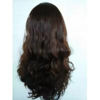 Buy cheap Jewish Wig Kosher Wig, Unprocessed European Human Hair Skin Top, Cheap Human Skin Top from wholesalers